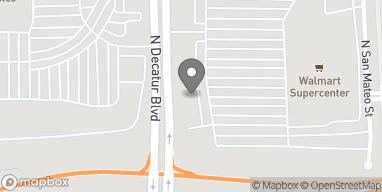 Mapa de 6436 N. Decatur Blvd en Las Vegas