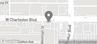 Map of 4851 West Charleston Boulevard in Las Vegas