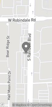 Mapa de 7815 S Rainbow Blvd en Las Vegas