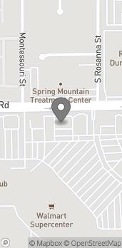 Mapa de 7017 Spring Mountain Rd en Las Vegas