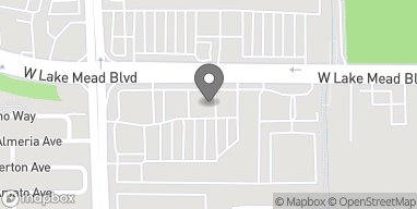 Mapa de 7531 West Lake Mead Boulevard en Las Vegas