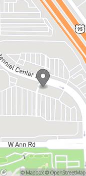Mapa de 5705 Centennial Center Blvd en Las Vegas