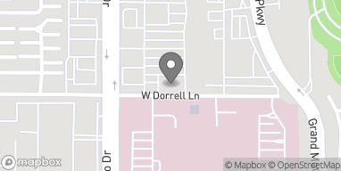 Mapa de 7010 N Durango Drive en Las Vegas