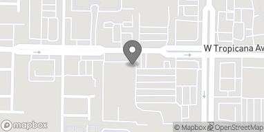 Map of 9435 W Tropicana in Las Vegas