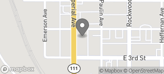 Map of 344 Imperial Avenue in Calexico