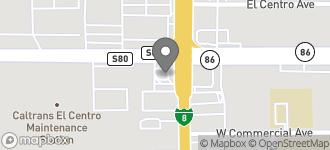 Map of 480 North Imperial Avenue in El Centro