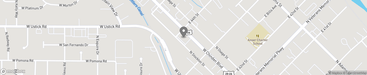 Map of 4379 W Chinden Blvd in Boise