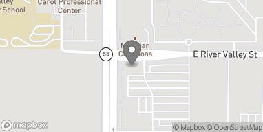 Mapa de 2386 N. Eagle Rd en Meridian