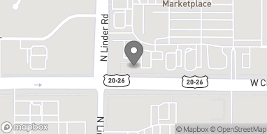 Map of 1520 West Chinden Blvd in Meridian