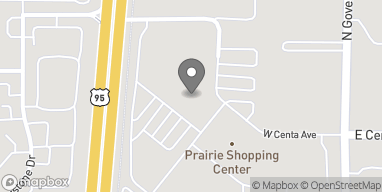 Mapa de 269 W Prairie Shopping Center en Hayden