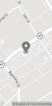 Map of 1662 Main Street in Ramona