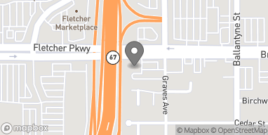 Mapa de 131 Broadway en El Cajon