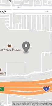 Mapa de 753 Parkway Plaza en El Cajon