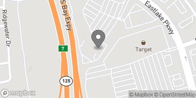 Mapa de 878 Eastlake Parkway en Chula Vista