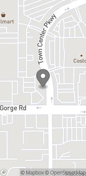 Mapa de 50 Town Center Pkwy en Santee