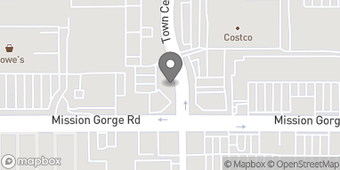 Map of 50 Town Center Pkwy in Santee
