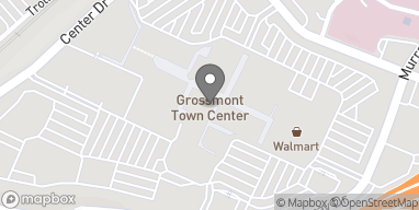 Map of 5500 Grossmont Center Dr in La Mesa