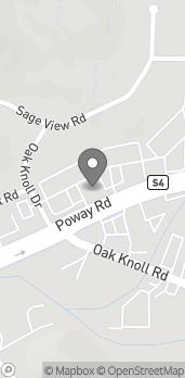 Map of 12218 Poway Rd in Poway