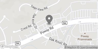 Mapa de 12218 Poway Rd en Poway