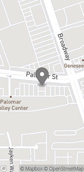 Mapa de 620 Palomar St en Chula Vista