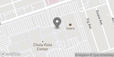 Map of 555 Broadway in Chula Vista