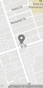 Map of 591 H Street in Chula Vista