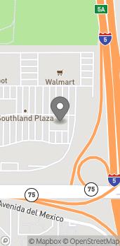 Map of 685 Saturn Blvd in San Diego