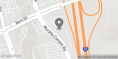 Mapa de 3655 Murphy Canyon Road en San Diego