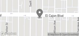 Map of 3495 El Cajon Blvd. in San Diego