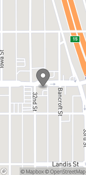 Map of 3223 University Ave in San Diego