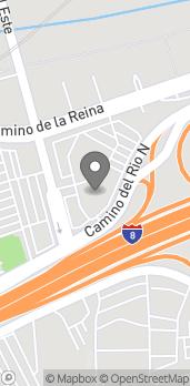 Mapa de 2011 Camino Del Este North en San Diego