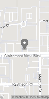Map of 8006 Clairemont Mesa Blvd in San Diego