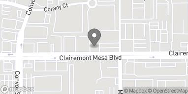 Mapa de 8006 Clairemont Mesa Blvd en San Diego