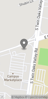 Map of 344 S Twin Oaks Valley Rd in San Marcos