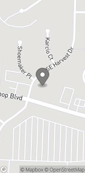 Map of 650 SE Bishop Blvd in Pullman