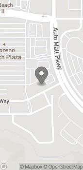 Mapa de 12831 Moreno Beach Dr en Moreno Valley