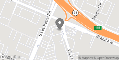 Mapa de 133 S Las Posas Rd en San Marcos
