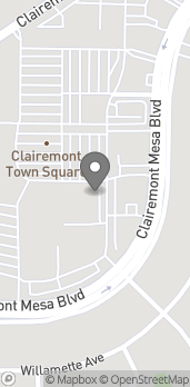 Map of 3998A Clairemont Mesa Blvd in San Diego