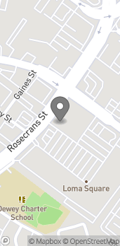 Map of 3361 Rosecrans in San Diego
