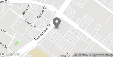 Mapa de 3361 Rosecrans en San Diego