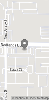 Map of 1971 W Redlands Blvd in Redlands