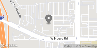 Map of 1688 N Perris Blvd in Perris