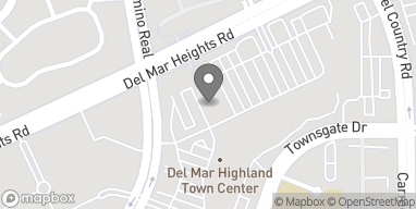 Mapa de 3435 Del Mar Heights Rd en San Diego