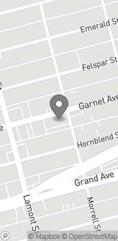 Mapa de 1975 Garnet Ave en San Diego