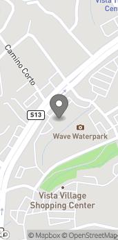 Map of 347 Vista Village Drive in Vista