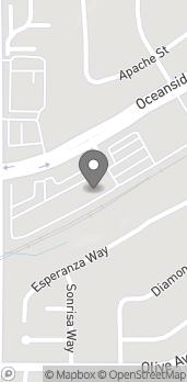 Mapa de 4225 Oceanside Blvd en Oceanside