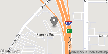 Map of 1375 Camino Real in San Bernardino