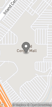 Map of 500 Inland Center Dr in San Bernardino