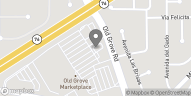 Mapa de 175 Old Grove Rd en Oceanside
