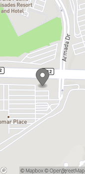 Map of 961 Palomar Airport Rd in Carlsbad